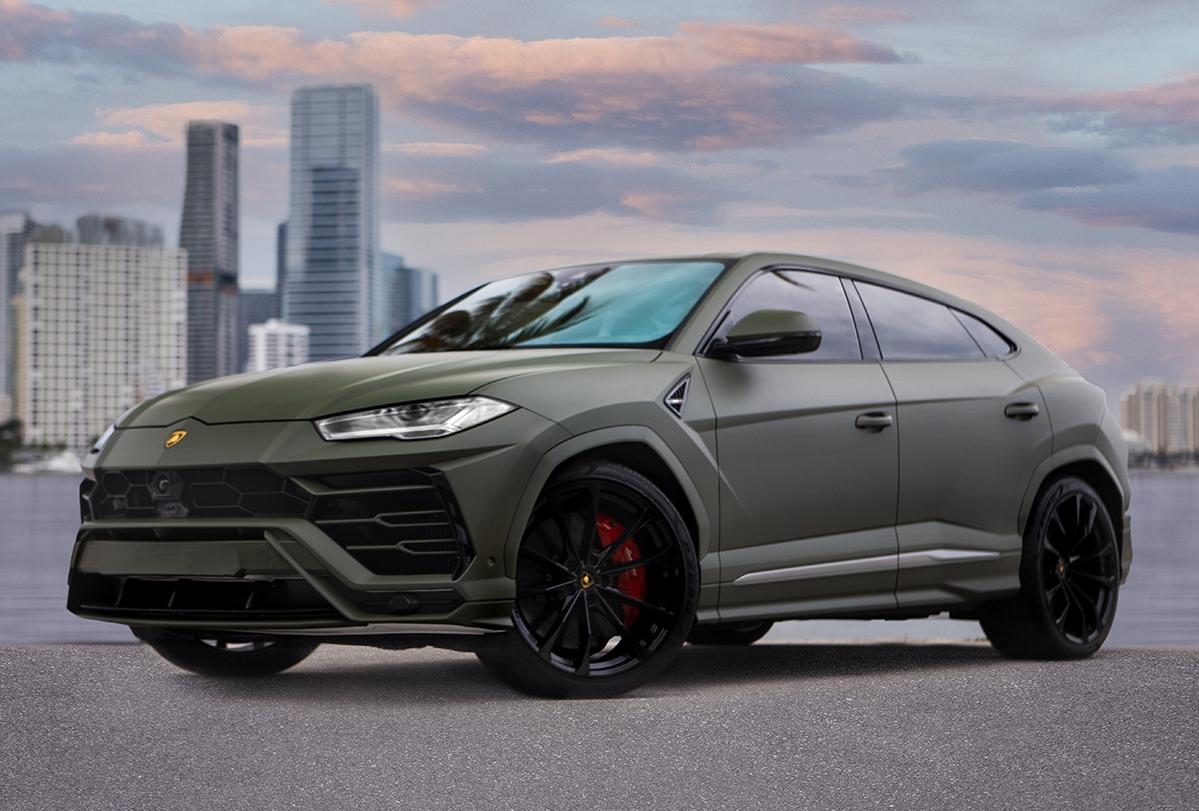Exotic Car Rental Miami Lamborghini Urus